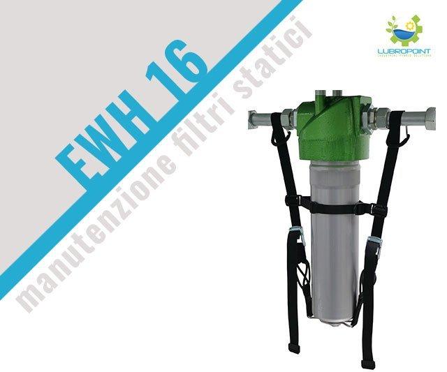 Manutenzione filtri statici, ecco la cinghia EHW 16
