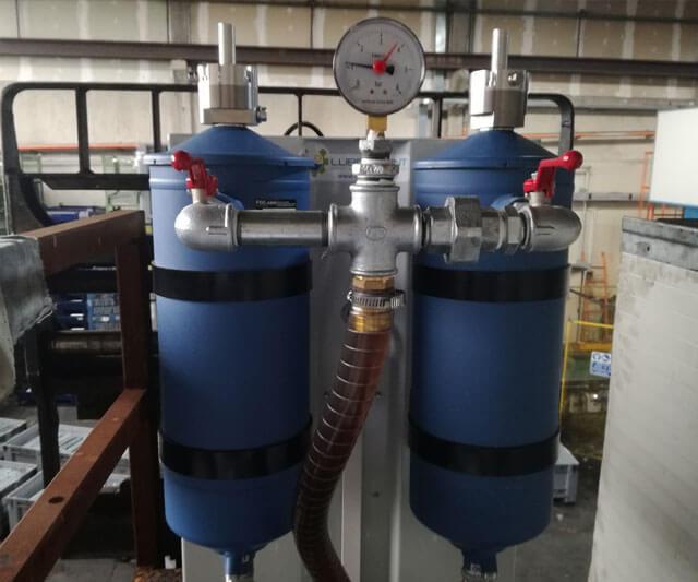 Alpa 20 filtration system
