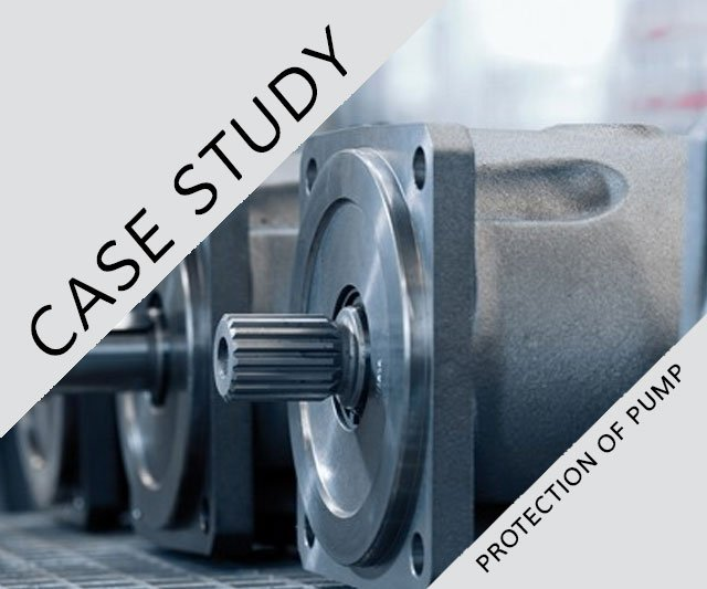 SUCCESS STORY: VS 87 – Protection of pumps